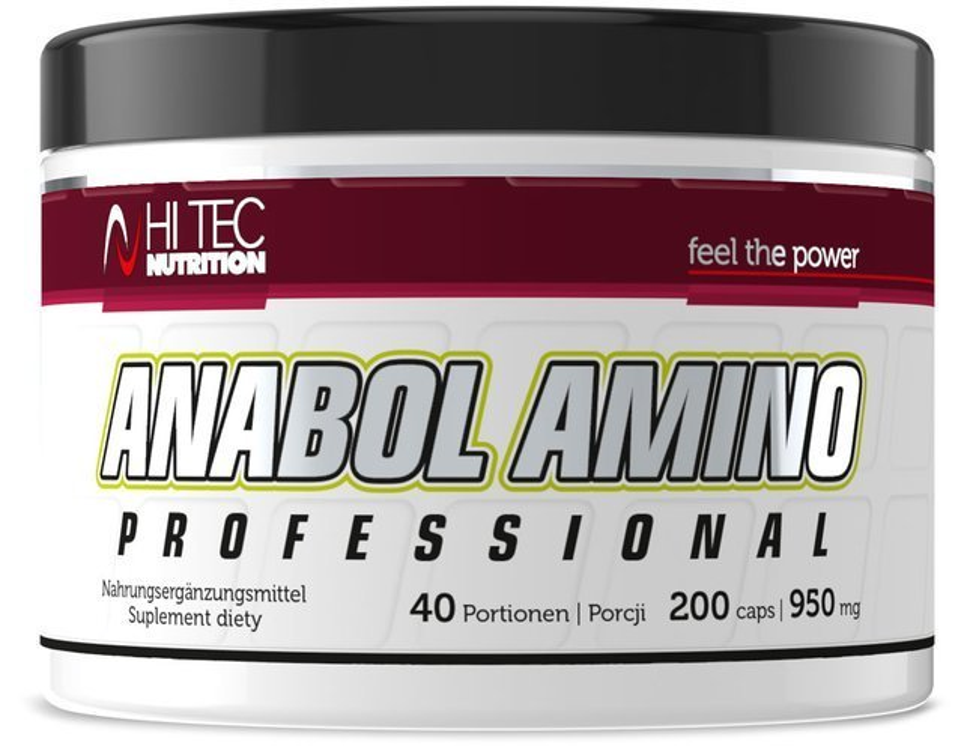 ujęcia stóp tani zasznurować Anabol Amino Professional - 200kaps