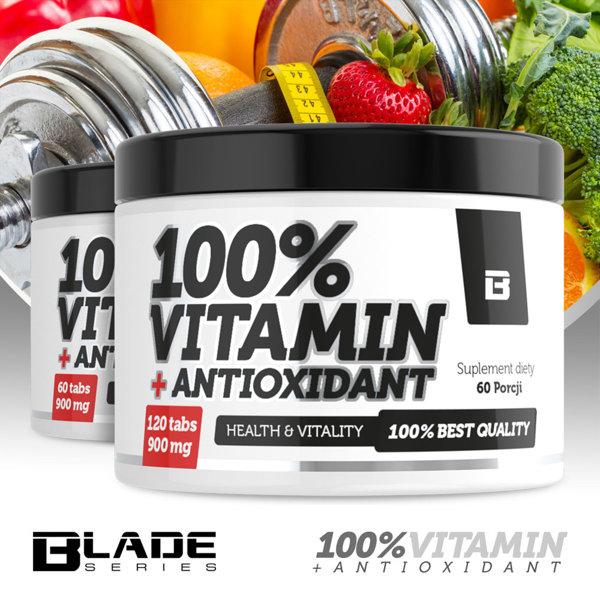 100% Vitamin + Anioxidant 6o tab